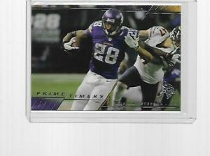 2014 TOPPS PRIME FOOTBALL PRIME TIMERS ADRIAN PETERSON