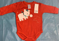 Gymboree Baby Winter Orange Bodysuit 3-6 Months NWT