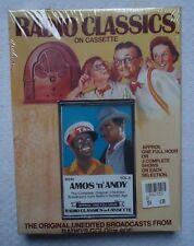 Radio Classics Amos N Andy Vol II Cassette New Sealed Radio Broadcast Old Time