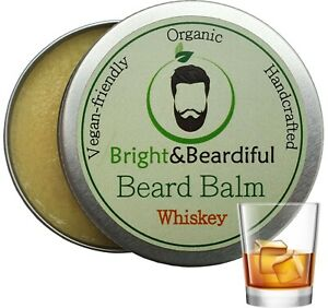 Whiskey Leave-in Beard Balm for Styling, Taming, Soften & Conditioning 30ml