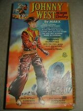 Vintage Marx Johnny west Figure 1960 with original box and accessories