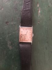Oris Chrome Cases Art Deco Style Watch Circa 1939-1940