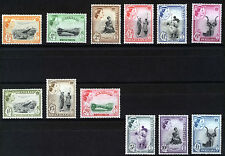 SWAZILAND 1956 DEFINITIVES SG53/64 MNH
