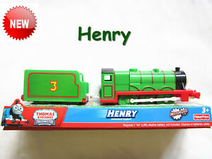 Thomas the tank engine  TRACKMASTER Train  *Henry 【compatible with all tracks】