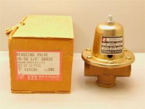 """Bell & Grossett 110190 B-38 1/2""""NPT 12PSIG Pressure Reducing Valve New in Box"""