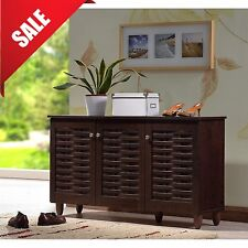 Entryway Cabinet Hallway Shoe Storage Living Room TV Stand Entertainment Center