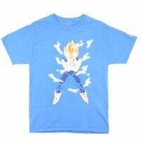 CHAMPION Dragonball Z Blue Cartoon Short Sleeve T-Shirt Mens M