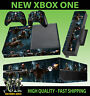 XBOX ONE CONSOLE STICKER INJUSTICE 2 DEADSHOT FLASH RED HOOD SKIN & 2 PAD SKINS
