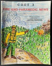 CODE 3 Fire & Paramedic News 1988 Los Angeles National Forest Firefighters