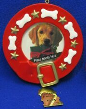 Hallmark Keepsake Ornament Special Dog Photo Holder Brass Perfect Pooch 1993 Tag