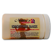 Smoothie Base Mix and Booster - (Non-dairy dry powder packed in 1 lb canister)