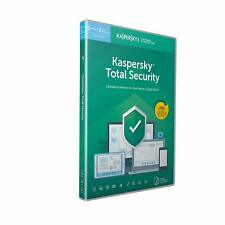 New Kaspersky Total Security 2019 5 Devices 1 Year PC Mac Android Email Key EU