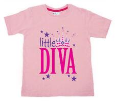 T-shirt rose pour fille de 3 à 4 ans