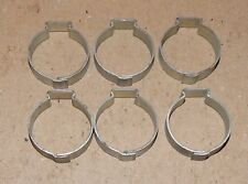 "7/8"" Hose Pinch Clamps Single Ear 6ea Tubing Dixon Keystone Zinc Steel USA 160U"