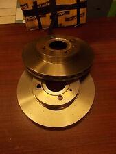 2 Disques de frein avant ventilés Alfasud alfa 33 1.7 sport wagon DF1734 422128