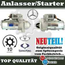 MERCEDES BENZ Stufenheck 300 Turbo D, (W124) / 2,2kW ANLASSER STARTER NEU NEW