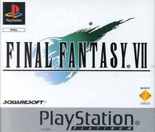 Final Fantasy VII -- Platinum (Sony PlayStation 1, 2000)