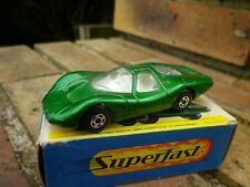 MATCHBOX LESNEY SUPERFAST FORD GROUP 6 base rose TRES BON ETAT BOITE D'ORIGINE