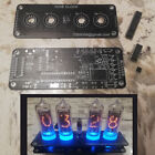 DIY Nixie Clock 4 x IN-14  IN-3 RGB Backlight Alarm   PCB  IC only