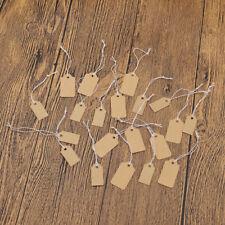 Packpapier Zettel Dekoschild Tag Schild Kleidung Etikett 90-100x DIY Handarbeit