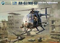 KH50003 Kitty Hawk 1/35 AH-6J/MH-6J Little Bird Nightstalkers Model Kit