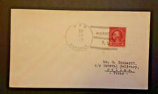 1935 USS Canopus To Dallas Texas Naval Cover