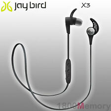 GENUINE Jaybird X3 Sport Bluetooth Wireless Buds Headset Earphone Blackout Black