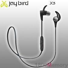 GENUINE Jaybird X3 Sport Bluetooth Wireless Buds Headset Earphone Blackout Black