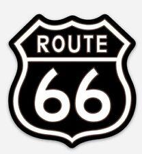 Route 66 Vinyl MAGNET - Highway Gasoline Hot Rod Road street sign