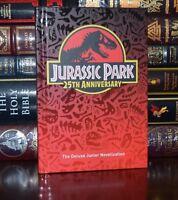 Jurassic Park Michael Crichton 25th Anniversary New Deluxe Hardcover Classics
