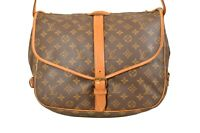 Louis Vuitton Monogram Saumur 35 Shoulder Bag M42254 - F01716