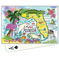 FLORIDA MAP *NEW* COLLECTIBLE SOUVENIR PLAYING CARDS