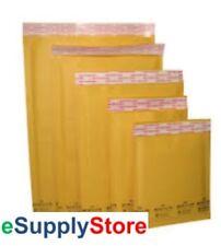 250 0 65x10 Kraft Bubble Mailer Padded Envelopes