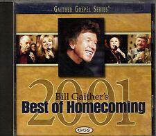 """BILL GAITHER'S...........""""BEST OF HOMECOMING 2001""""..........OOP GOSPEL CD"""