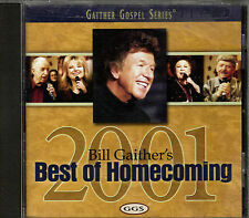 "BILL GAITHER'S...""BEST OF HOMECOMING 2001""...GAITHER GOSPEL SERIES""....GOSPEL CD"