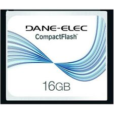 Dane-Elec 16 GB 16GB Compact Flash CF Memory Card for SLR Cameras