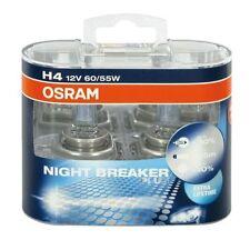 OSRAM COPPIA LAMPADE PER AUTO H4 NIGHT BREAKER PLUS + DURATA
