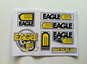 EAGLE SPORT SCOOTER 7 STICKER PACK!