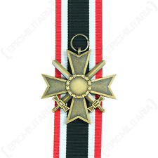 1957 WAR MERIT CROSS - 2ND CLASS - Repro WW2 With Ribbon German Military Army