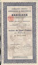 Badikaha > Ivory Coast Africa bond certificate