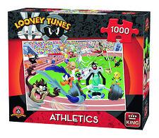 1000 Piece Jigsaw Puzzle Looney Tunes Bugs Bunny Cartoon Sports Athletics 05599