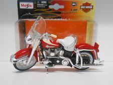 HARLEY DAVIDSON 1962 FLH DUO GLIDE MOTO BIKE MAISTO 1/18