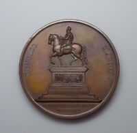 1817 France - Henri IV Monument Restoration Medal by Andrieu.