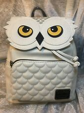Loungefly Harry Potter Hedwig Faux Leather Mini Backpack Standard Beige