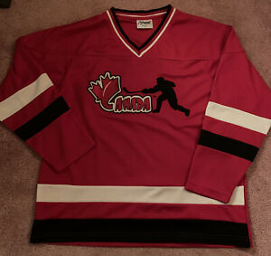 Impressions Canada Hockey Jersey Red Size Large