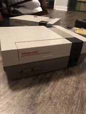 Original Nintendo NES Works Console Only. Tested. New 72 PIN Connector.