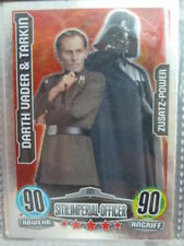 Force Attax Star Wars 1 (2012, blau), Darth Vader & Tarkin (221) Zusatz-Power