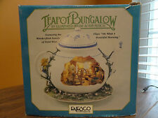 VIDEO Enesco Teapot Bungalow Field Mice Animated Music Oh What Beautiful Morning