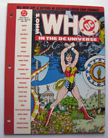 Who's Who in the DC Universe #4 1990, Loose-Leaf, Wonder Woman, Plastic Man