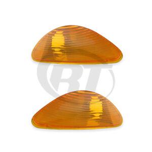 Bumper Signal Lights for 02-18 International 4100/4200/8500/8600 Pair Set